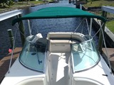 24 Foot Chaparral 233 aft seating