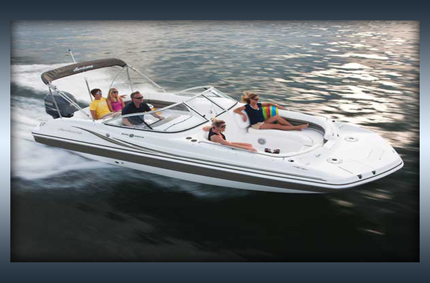 Hurricane 237 rental boat