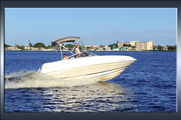 Regal 2120 Destiny rental boat