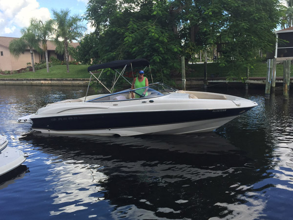26 Foot Regal 2600 LSR Bowrider Boat Rental