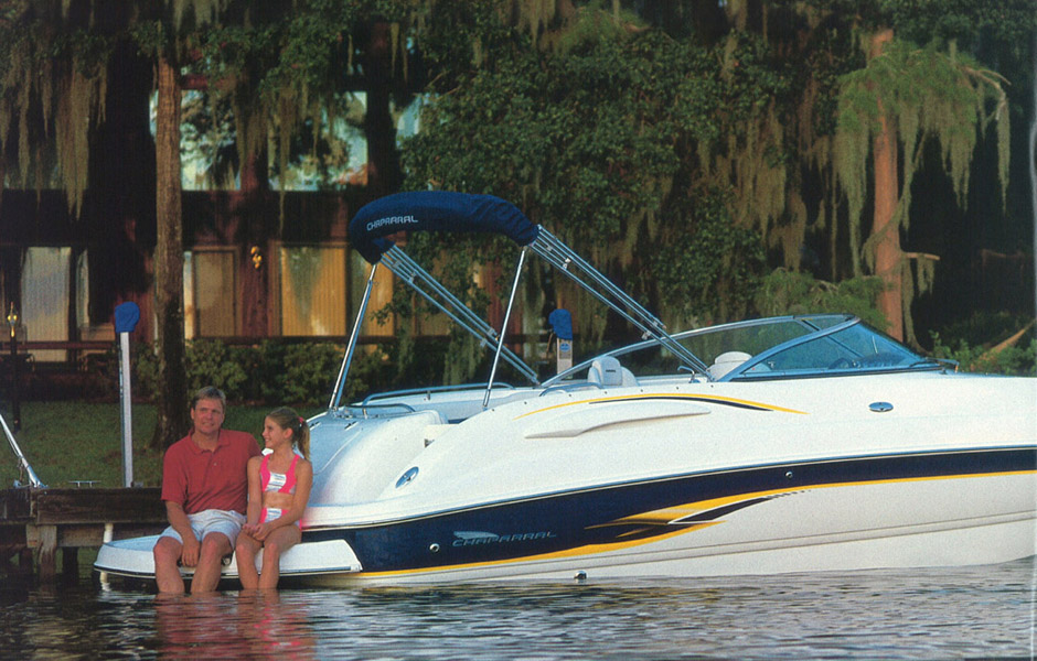 26 foot Chaparral Sunesta 263 Deck Boat